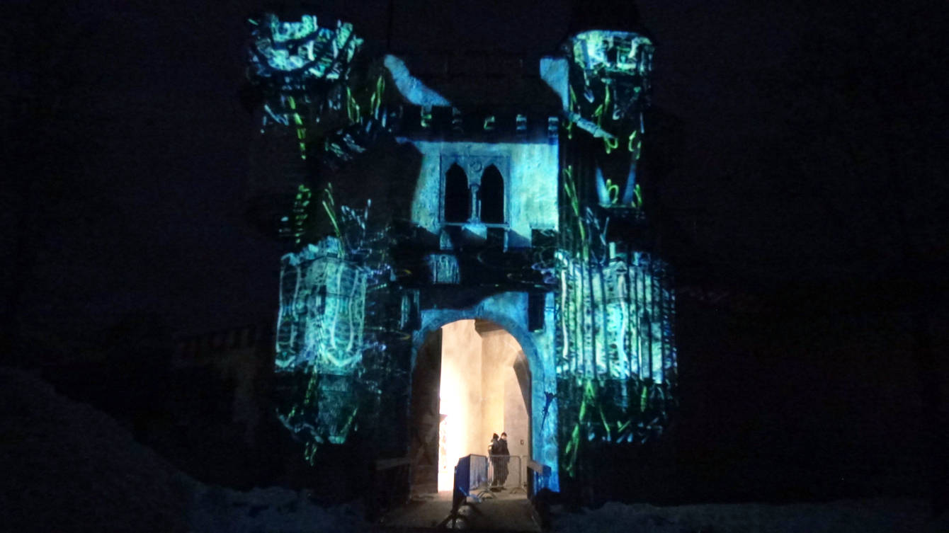 resorb Magic Castle Projection Mapping